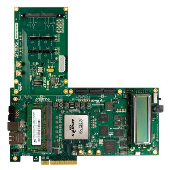 -Arria II GX FPGA開発キットに接続