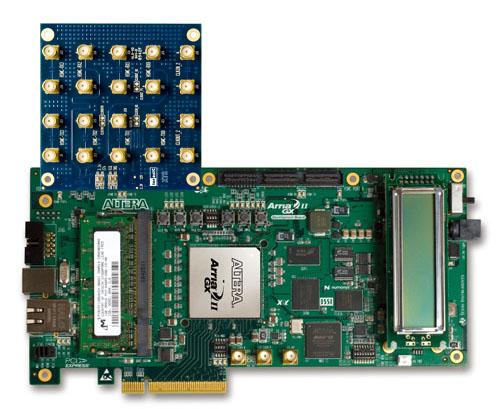 Arria II GX FPGA開発キットに接続