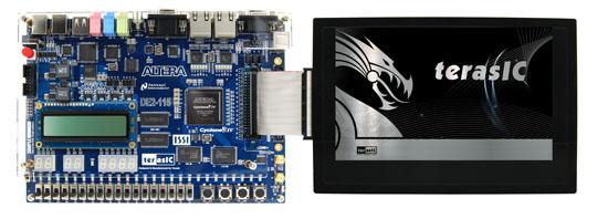 MTLとDE2-115との接続