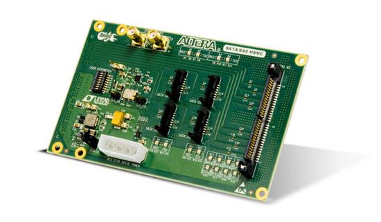 Terasic SATA/ SASドーターカード(SATA/SAS HSMC Card)